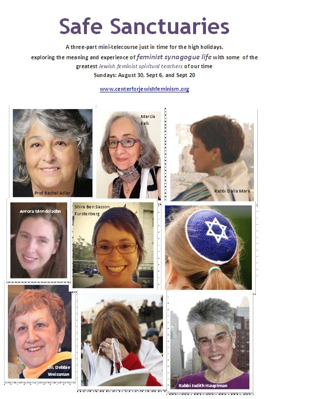 NEW Telecourse: How do you create feminist synagogue communities?