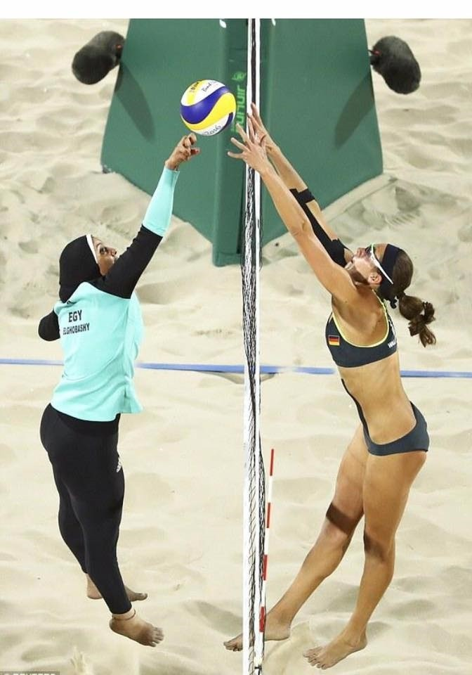 Olympics 2016: Religious women/secular women -- different cultures, same male sexual gaze